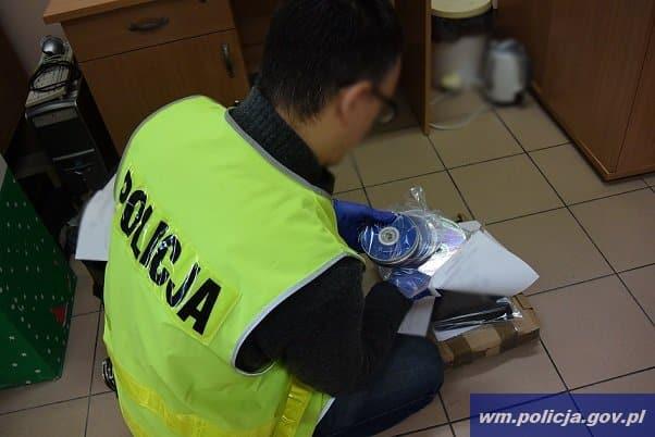 policja akcja bike pedofile plyty