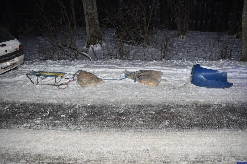 policja nidzica kulig wypadek 2