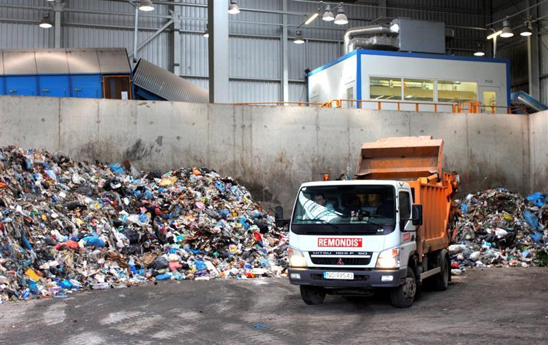 Dział odpadów zmieszanych