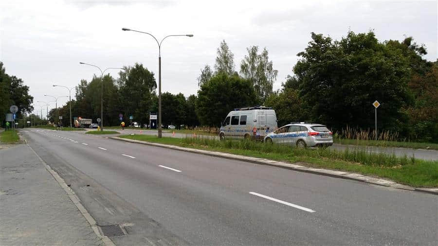 wypadek smiertelny warszawska (1)