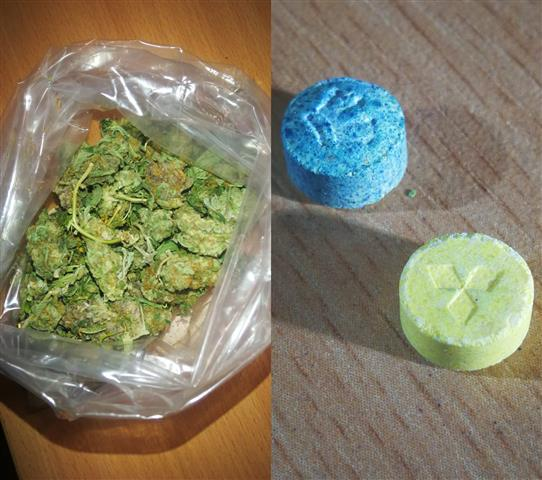 narkotyki marihuana Ecstasy