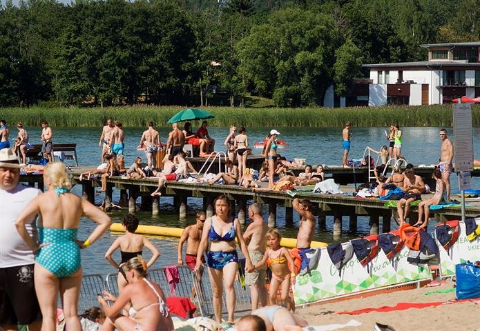 Ratownicy zaczęli pracę na mazurskich kąpieliskach