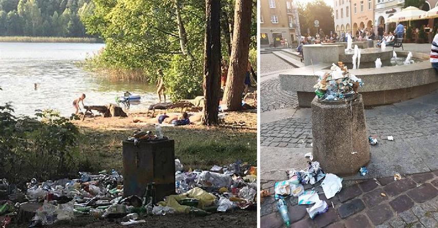 Brudny park, Stare Miasto i plaże – temat śmieci powraca