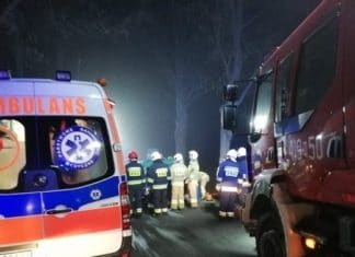 Dwóch kierowców zginęło w zderzeniu czołowym aut. Policja organizuje objazdy