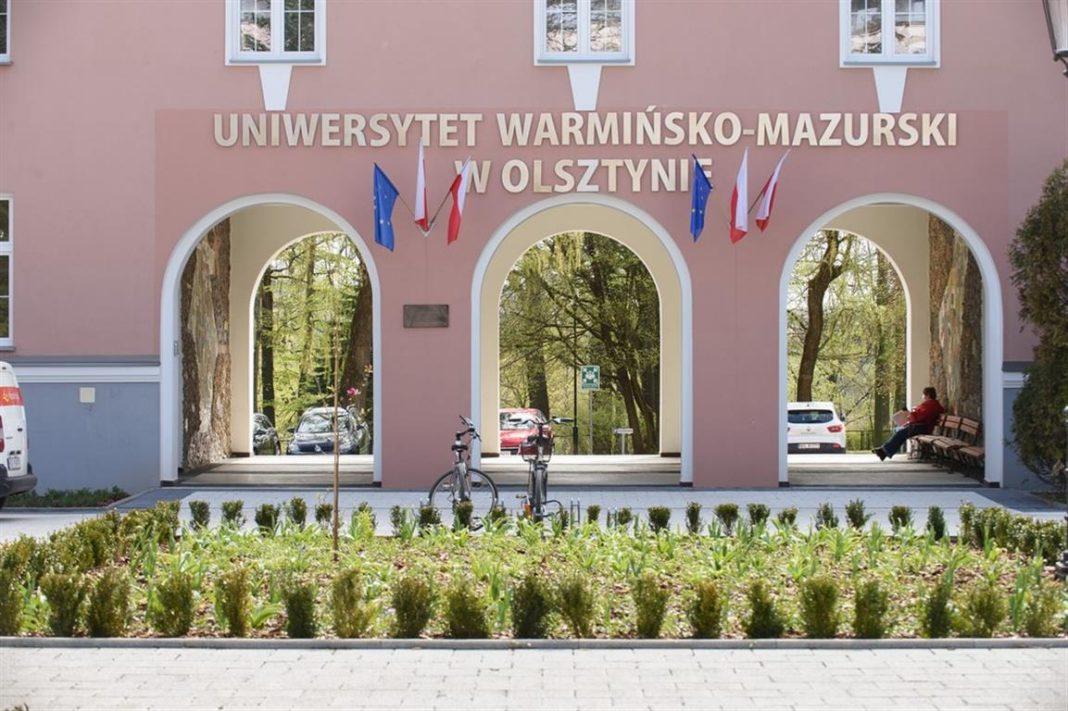 Odnowiono plac koło rektoratu UWM