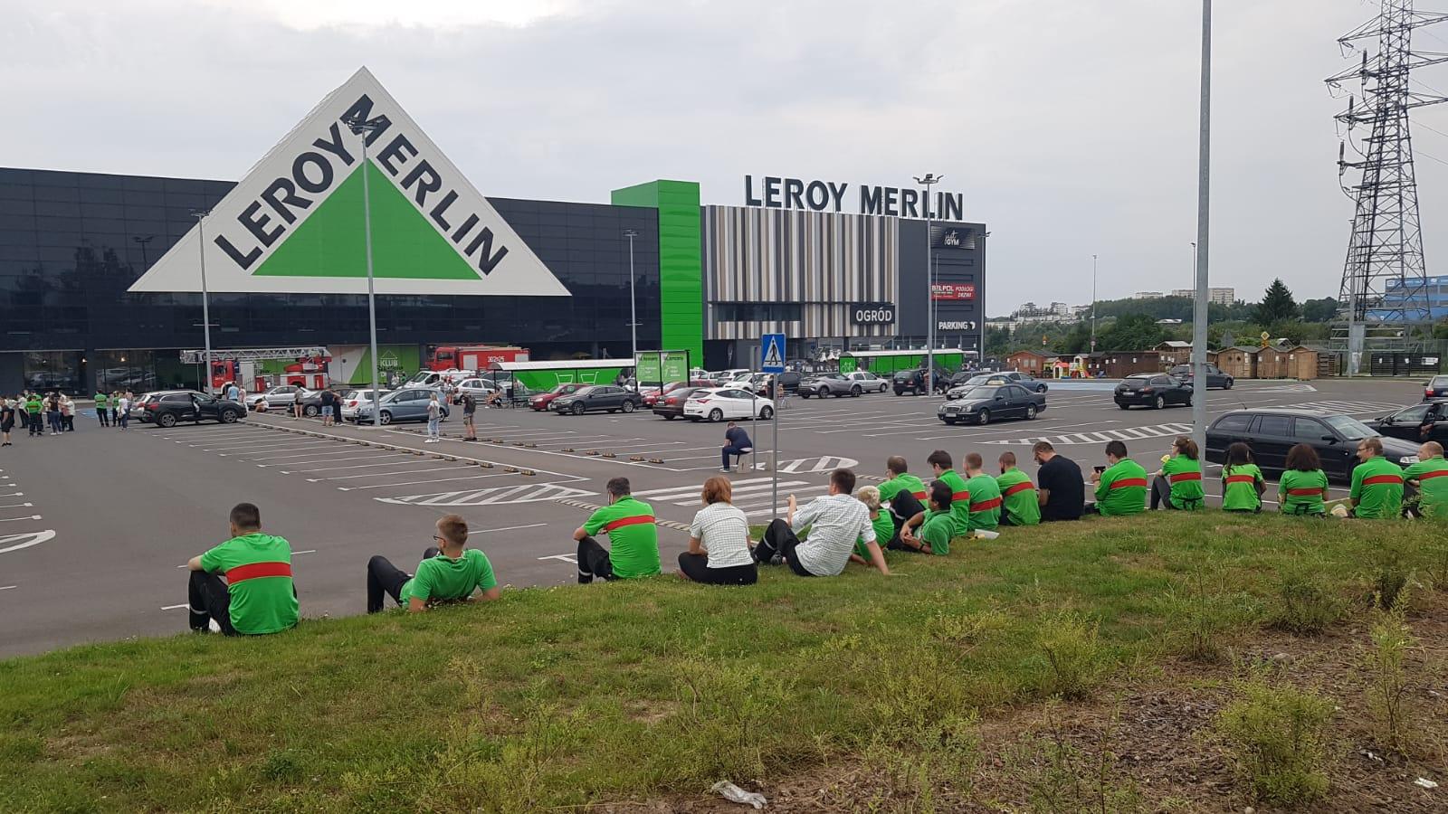 Ewakuacja Leroy Merlin