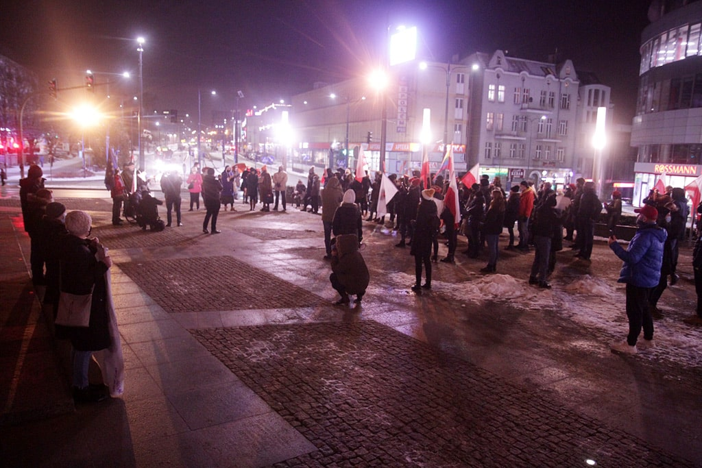Odbył się kolejny protest w Olsztynie