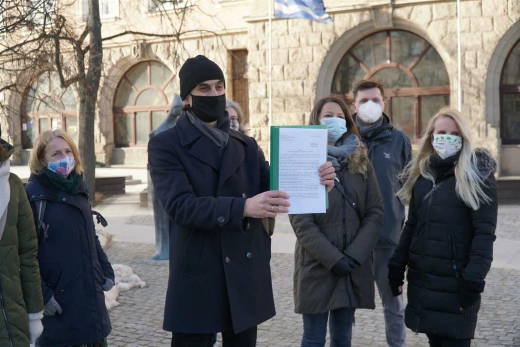 Petycja złożona! Czy Olsztyn będzie miastem zieleni?